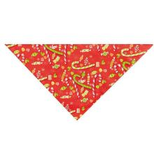 Holiday Christmas Candy Dog Bandana