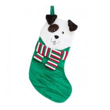 Holiday Festive Pup Stocking - Green