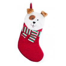 Holiday Festive Pup Stocking - Red