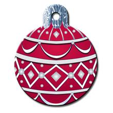 Holiday Ornament Engravable Pet I.D. Tag