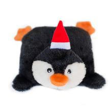 Holiday Squeakie Pad Dog Toy - Penguin