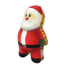Holiday Tiger Seamz Dog Toy - Santa