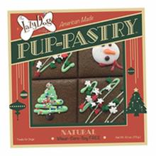 Holiday Treat Pup Decorated Pastry