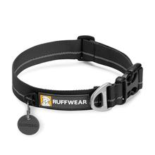 Hoopie Dog Collar by RuffWear - Obsidian Black