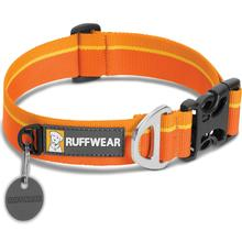 Hoopie Dog Collar by RuffWear - Orange Sunset
