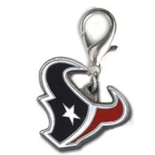 Houston Texans Logo Dog Collar Charm
