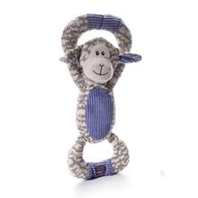 Huggable Tuggables Dog Toy - Purple Lamb