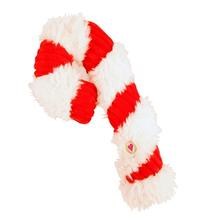 HuggleHounds Candy Cane Dog Toy
