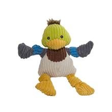 HuggleHounds Duck Knottie Dog Toy