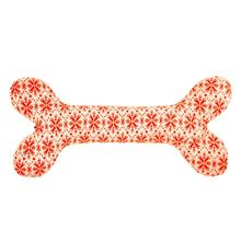 HuggleHounds Holiday Bone Dog Toy - Snowflake
