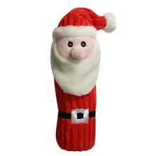 Hugglehounds Holiday Endless Squeak Santa Dog Toy