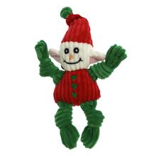 HuggleHounds Holiday Knottie Elf Dog Toy