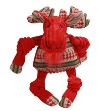 HuggleHounds Knottie Nordic Moose Dog Toy