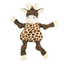 HuggleHounds Knotties Dog Toy - Giraffe