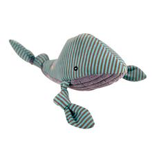 HuggleHounds Knotties Dog Toy - Whale
