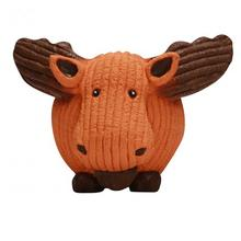 HuggleHounds Ruff-Tex Dog Toy - Moose