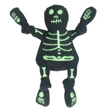 HuggleHounds Skeleton Knotties Dog Toy