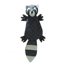 HuggleHounds Tuffut Luxx Dog Toy - Raccoon