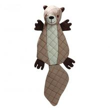 HuggleHounds Tuffut Luxx Dog Toy - Squirrel