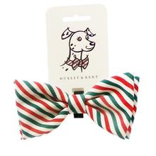 Huxley & Kent Dog Bow Tie Collar Attachment - Mint Stripe
