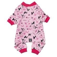 I Love Paris Dog Pajamas - Pink