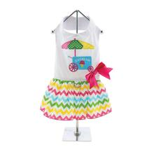 Ice Cream Chevron Dog Dress
