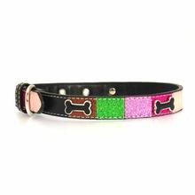 Ice Cream Dog Collar - Pink Neapolitan Bone