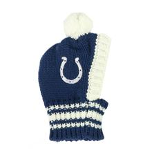 Indianapolis Colts Knit Dog Hat