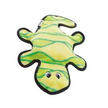 Invincibles Gecko Dog Toy - Green and Yellow