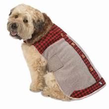 Jackson Lodge Dog Coat - Gray