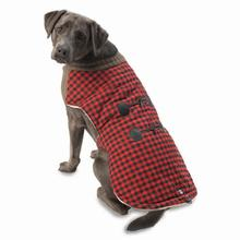 Jackson Toggle Dog Jacket - Red/Black