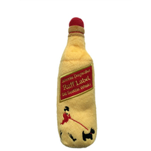 Johnnie Dogwalker Ruff Label Scottie Whisky Plush Dog Toy