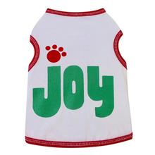 Joy Dog Tank Top - White