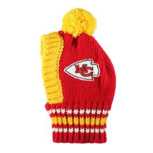 Kansas City Chiefs Knit Dog Hat