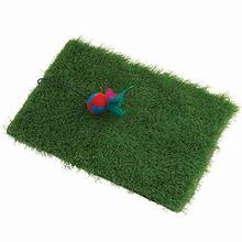KittyRageous Turfscratcher Cat Toy with Feather Ball