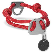 Knot-A-Collar for Dogs by RuffWear - Red Currant