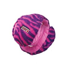 KONG Funzler Ball Dog Toy - Purple and Pink