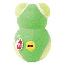 KONG OFF/ON Squeaker Dog Toy Bear - Green Bear