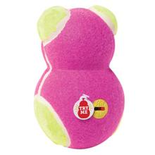 KONG OFF/ON Squeaker Dog Toy Bear - Pink Bear