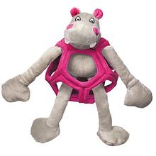 Kong Puzzlements Dog Toy - Hippo