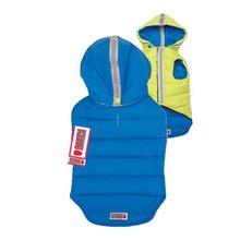 KONG Reversible Puffy Dog Vest - Blue/Green