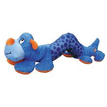 KONG Shakers Dog Toy - Blue Caterpillar