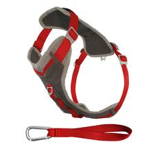 Kurgo Journey Dog Harness - Red and Charcoal