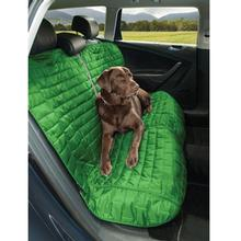 Kurgo Loft Reversible Bench Seat Cover - Green and Gray