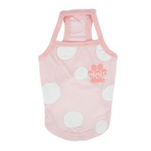 Ladonna Dog Tank by Pinkaholic - Light Pink