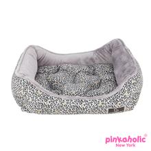 Leo Pug House Dog Bed by Pinkaholic - Black