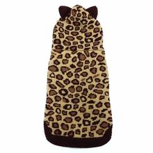 Leopard Hooded Dog Sweater by Dogo