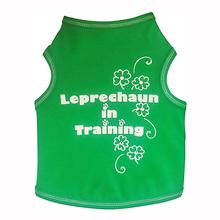 Leprechaun in Training Dog Tank - Green