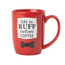 Life is Ruff Mug by Petrageous