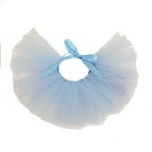 Light Blue Tulle Dog Tutu by Pawpatu